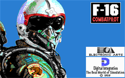 F-16 Combat Pilot - Screenshot - Game Title