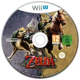 The Legend of Zelda: Twilight Princess HD - Disc