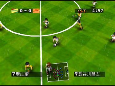 J.League Eleven Beat 1997 - Screenshot - Gameplay