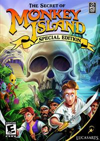 The Secret of Monkey Island: Special Edition - Fanart - Box - Front