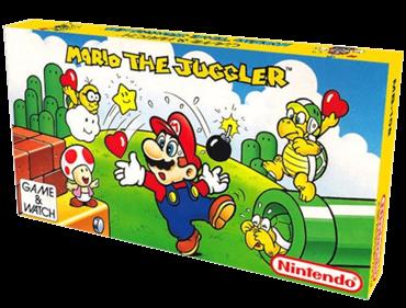 Mario the Juggler - Box - 3D