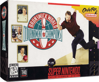 Brunswick World: Tournament of Champions - Box - 3D