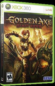 Golden Axe: Beast Rider - Box - 3D