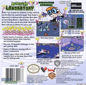 Dexter's Laboratory: Deesaster Strikes! - Box - Back