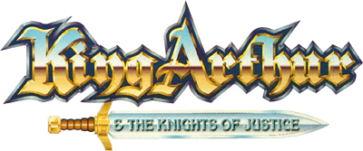 King Arthur & the Knights of Justice - Clear Logo