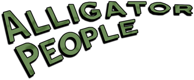 The Alligator People - Clear Logo