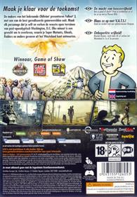 Fallout 3 - Box - Back