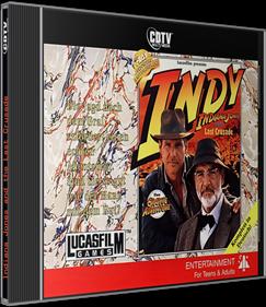Indiana Jones and the Last Crusade - Box - 3D