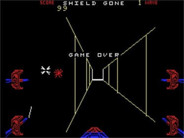 Star Wars: The Arcade Game - Screenshot - Game Over