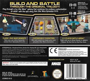 LEGO Star Wars II: The Original Trilogy - Box - Back