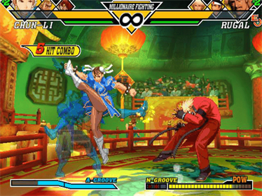 Capcom vs. SNK 2 EO - Screenshot - Gameplay