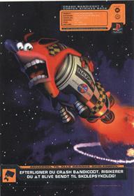 Crash Bandicoot 2: Cortex Strikes Back - Advertisement Flyer - Front