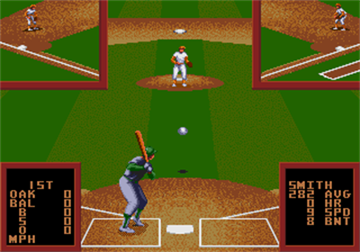 Cal Ripken Jr. Baseball - Screenshot - Gameplay