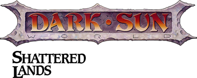 Dark Sun: Shattered Lands - Clear Logo