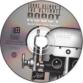Isaac Asimov's: The Ultimate Robot - Disc