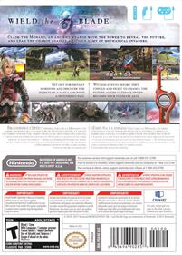 Xenoblade Chronicles - Box - Back