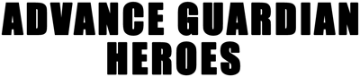 Advance Guardian Heroes - Clear Logo