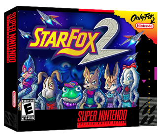 Star Fox 2 - Box - 3D