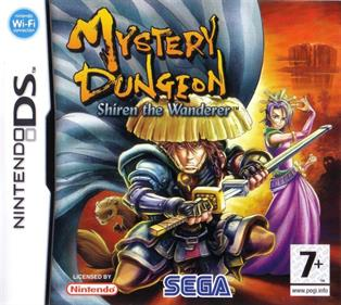 Mystery Dungeon: Shiren the Wanderer - Box - Front