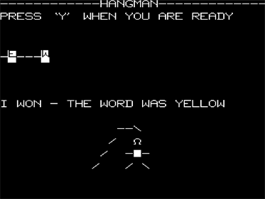 Galaxy Wars and Hangman - Screenshot - Gameplay