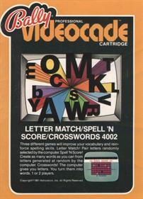 Letter Match + Spell'n Score + Crosswords