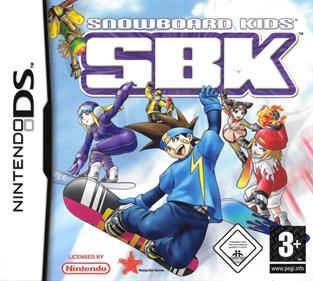 SBK: Snowboard Kids - Box - Front