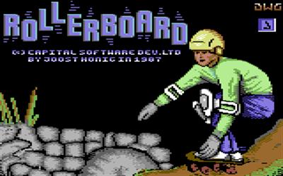 Rollerboard - Screenshot - Game Title