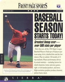 Front Page Sports: Baseball '94