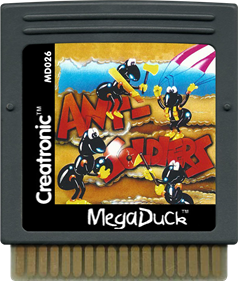 Ant Soldiers - Cart - Front