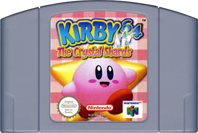 Kirby 64: The Crystal Shards - Cart - Front