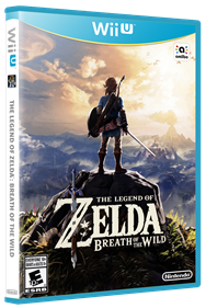 The Legend of Zelda: Breath of the Wild - Box - 3D