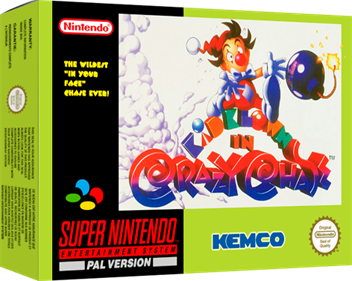 Kid Klown in Crazy Chase - Box - 3D