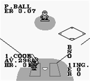 Bases Loaded for Game Boy - Screenshot - Gameplay