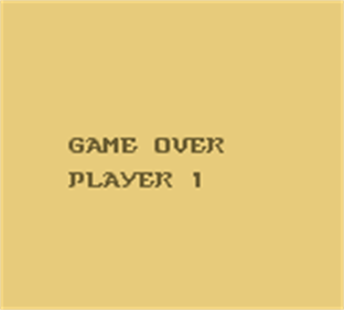 Dragon's Lair: The Legend - Screenshot - Game Over