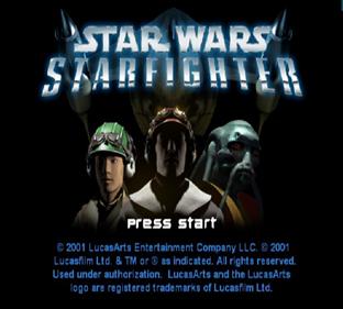 Star Wars: Starfighter - Screenshot - Game Title