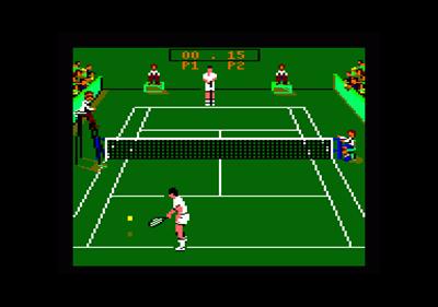 Pro Tennis Tour  - Screenshot - Gameplay