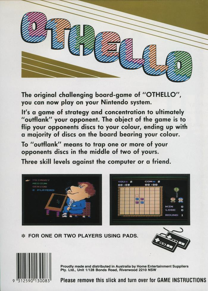 Othello Details Launchbox Games Database