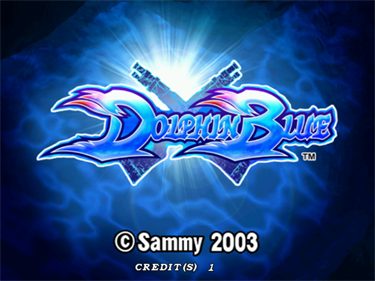 Dolphin Blue - Screenshot - Game Title
