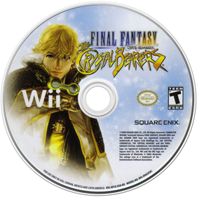 Final Fantasy Crystal Chronicles: The Crystal Bearers - Disc
