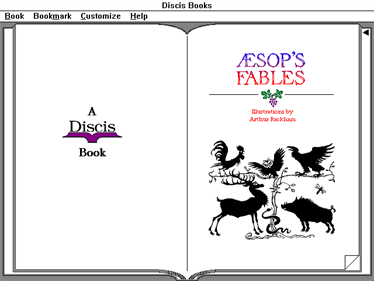 Aesop's Fables - Screenshot - Game Title