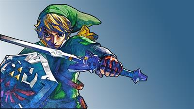 The Legend of Zelda: Skyward Sword - Fanart - Background