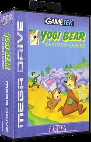 Yogi Bear: Cartoon Capers - Box - 3D