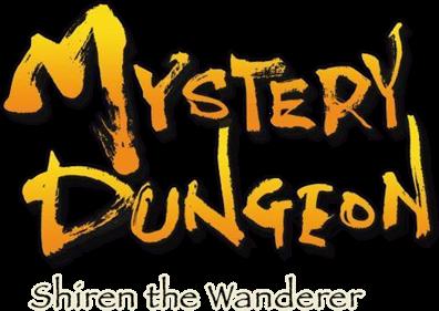 Mystery Dungeon: Shiren the Wanderer - Clear Logo