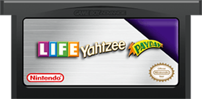 3 Game Pack!: The Game of Life + Payday + Yahtzee - Cart - Front