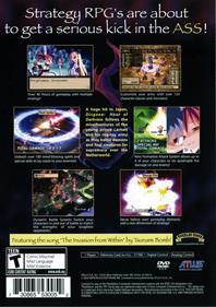 Disgaea: Hour of Darkness - Box - Back