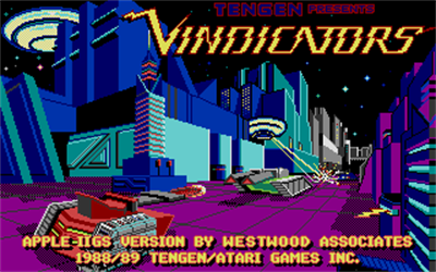 Vindicators - Screenshot - Game Title