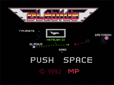 Gladius - Screenshot - Game Title
