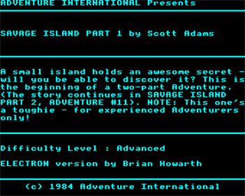 Savage Island Part One - Screenshot - Gameplay