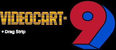 Videocart-9: Drag Strip - Clear Logo
