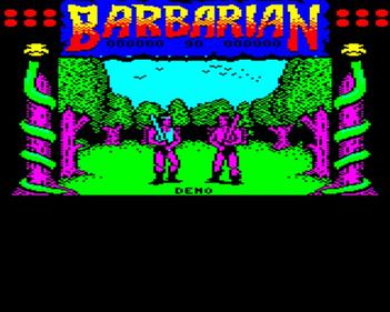 Barbarian: The Ultimate Warrior - Screenshot - Gameplay